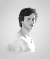 ian somerholder by alexa-e