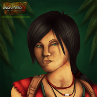 Chloe Uncharted 2 by keyholeXII