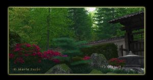 Japanese Garden more colorful by MariaFuchs