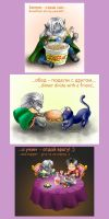 Drow's diet eng by SiberianCat