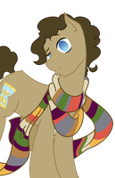 Request: 4th Doctor Ponified Vector by DubstepPegasister