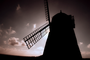 Halnaker Windmill by JamesGravell