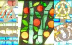 Norway stained glass collage by ancoben