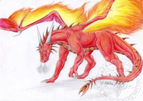 Fire Wings by LupaSola