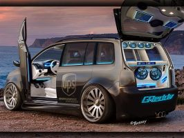 VW Touran by BarneyHH