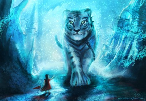 White tiger by barisgbo