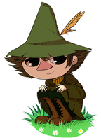 Snufkin by HulaHoopLAL