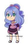 Ami chibi + speedpaint by the-electric-mage
