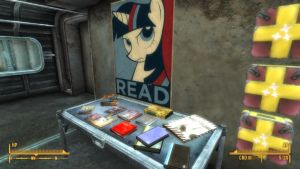 GoE WIP Screenshot: READ Book Table by MLP-NovelIdea