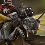 Antman's Ant by Ubermonster