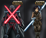 Knights of the old Republic by Banagherlinks