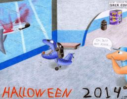 Halloween at Seaworld by sharkplane77