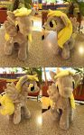 Derpy Plushie by Furboz by bunnyfriend