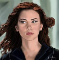 Black Widow - Scarlett Johansson by Saryetta86