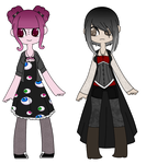 +||Pastel and Goth Auction - CLOSED||+ by Poppable-Adoptables