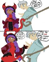 Best Not To Ask: Claudia Vs Jack Frost by BerrieBlosym