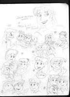 Julie-Alyson Trenton - My OC - Sketches by TXToonGuy1037
