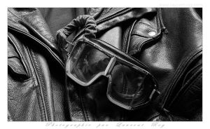 My old leather Jacket and Climax - 002 by laurentroy