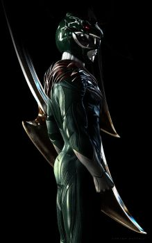 Green Ranger by CarlosDattoliArt
