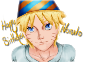 Happy Birthday Naruto by c0reja