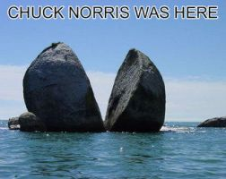 Chuck Norris by bloodrain1994