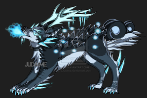 Arctic Dragon Wolf Hybrid Auction:: CLOSED by Judaime