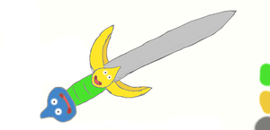 Slurpdrick sword by PlatinumDrawings