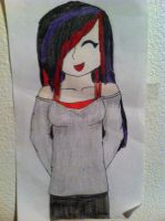 (Old drawing) Validien by StitchedSmile1