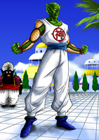 What if... Kami fused with Piccolo! by kibasennin
