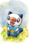 Oshawott doodle watercolor by Gallade007