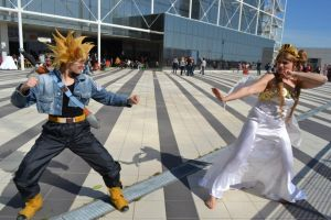 Trunks vs Queen Serenity by PincaIoIda