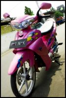 Wanna Ride With Pink by agie