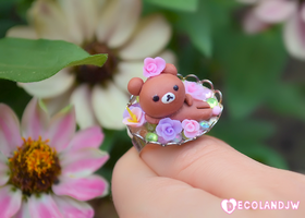 New Rilakkuma ring by decoland