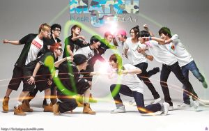 B1A4 Block B Match UP by Sweetkrystyna