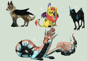 Random adopts by TheArtThief92