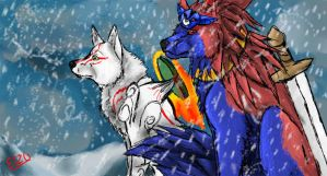 Ammy and definently Oki by Elzux