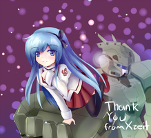 Thank you by Xzeit