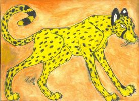 Random Cheetah by JamJams