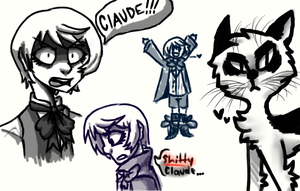 i dont like claude by marshallthevampking