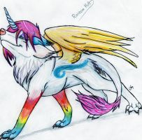 Rainbow Mutt by SasoriDanna94
