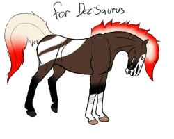 FDH for DeziSaurus by AnnMartini