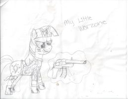 My Little WarZone: Twilight Sparkle by SpotLightPony