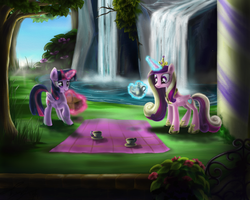 Princess' picnic by MarcyLin1023