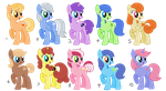 Adoptable Ponies - free (closed) by Maiximillion3564