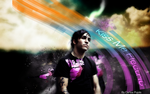 Pete Wentz Wallpaper by killerc19