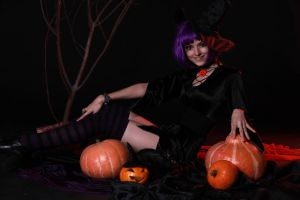Helloween Witch by LetzteSchatten-stock