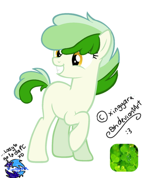 [SOLD] ~ Lucky Clover Pony Auction ~ by Xingyaru