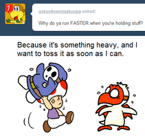 Ask Toad - Faster? by pocket-arsenal