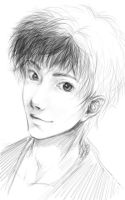 character sketch-boy by gizemko3