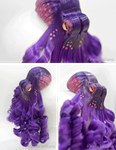 Purple Octopus Fascinator - FOR SALE by deeed